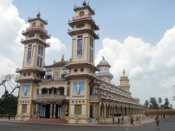 Holy see temple Caodai sect